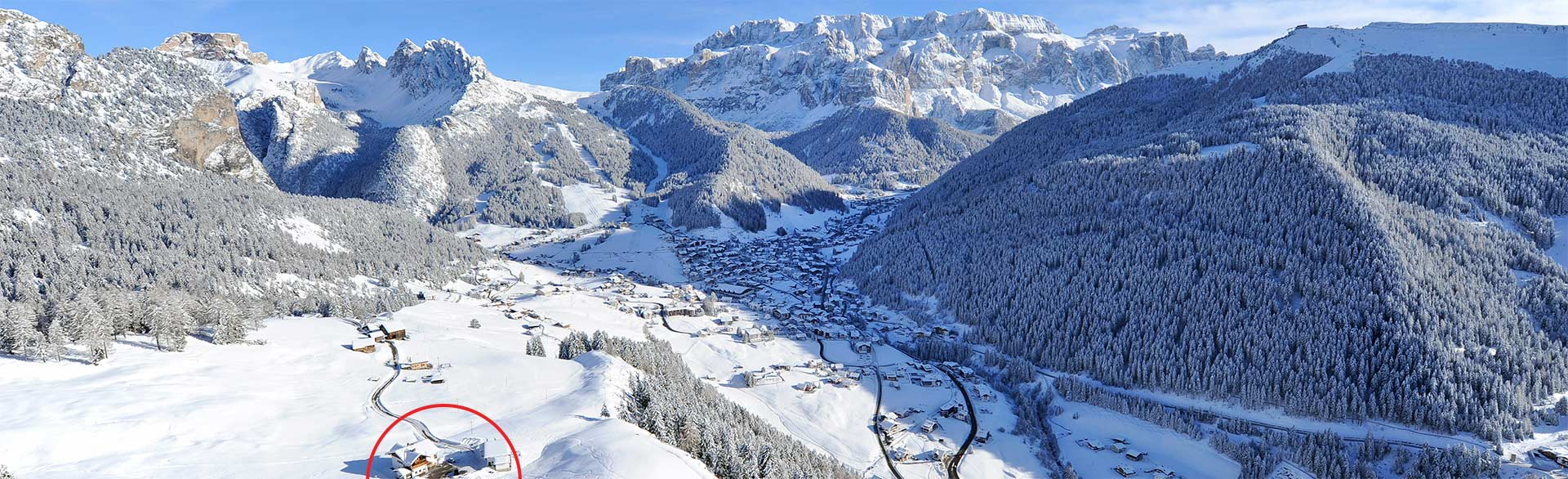 Location and how to reach us - Farm holidays Tulba in Selva in Val Gardena